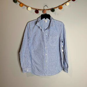 NWT Old Navy plaid Classic fit shirt *5 for $25*